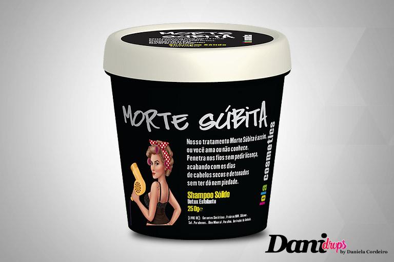 Shampoo Sólido Morte Súbita Detox Capilar