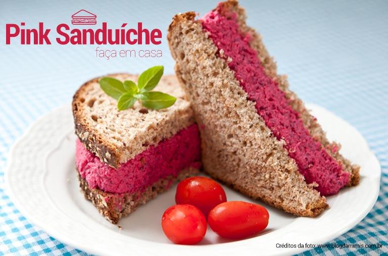 receita de pink sanduiche