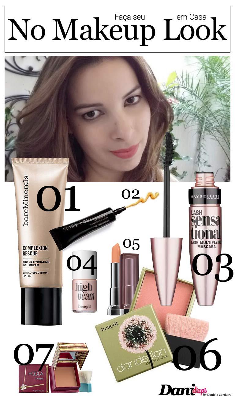 produtos de maquiagem para fazer maquiagem no makeup look maquiagem clean