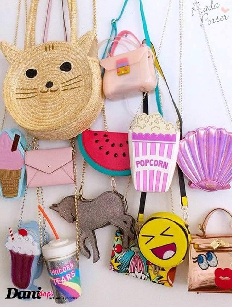 modelos de bolsas bolsa funny bags coloridas