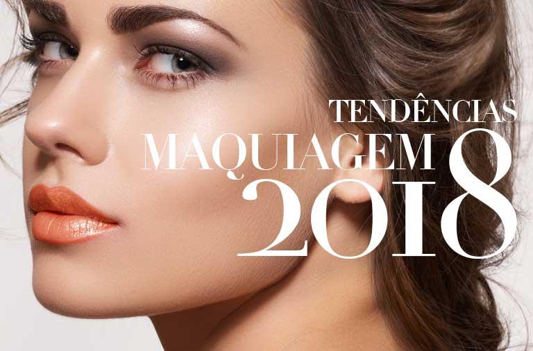 Tendências de Maquiagem 2018