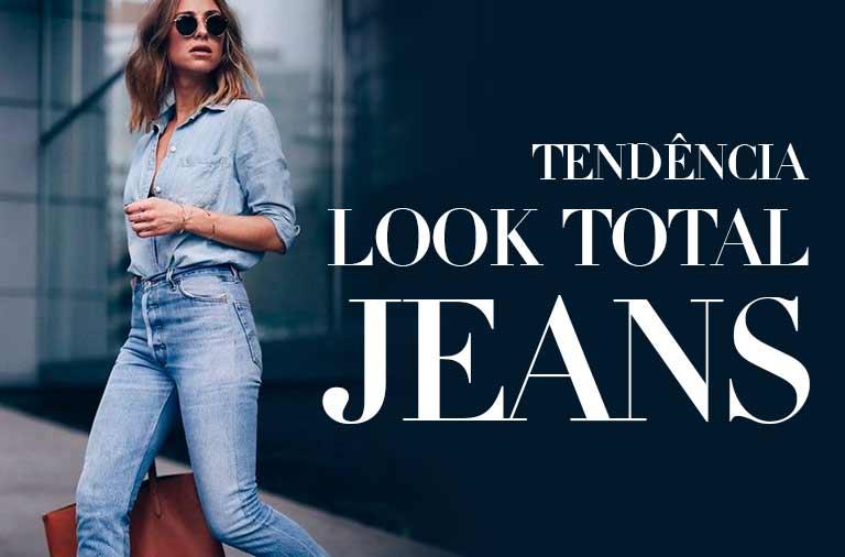 Tendência Look Jeans