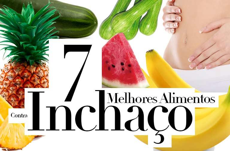 7 Melhores Alimentos Contra o Inchaço