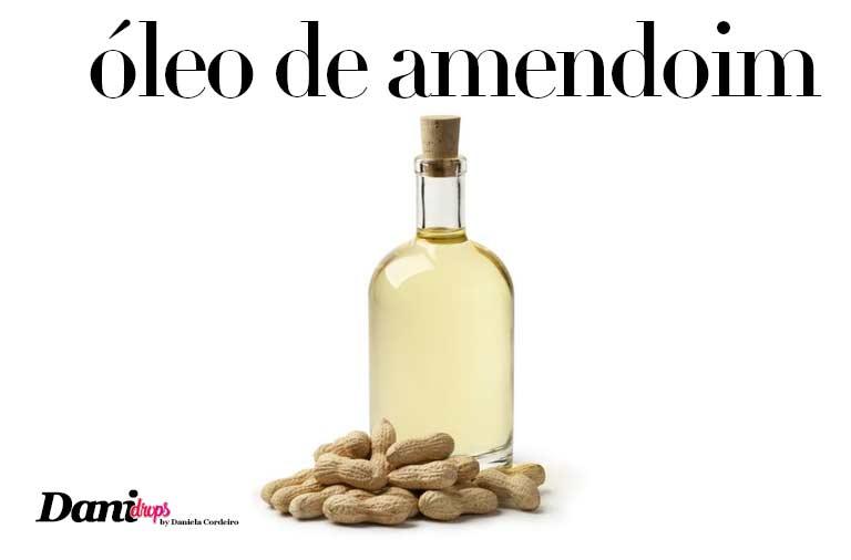 óleo de amendoim