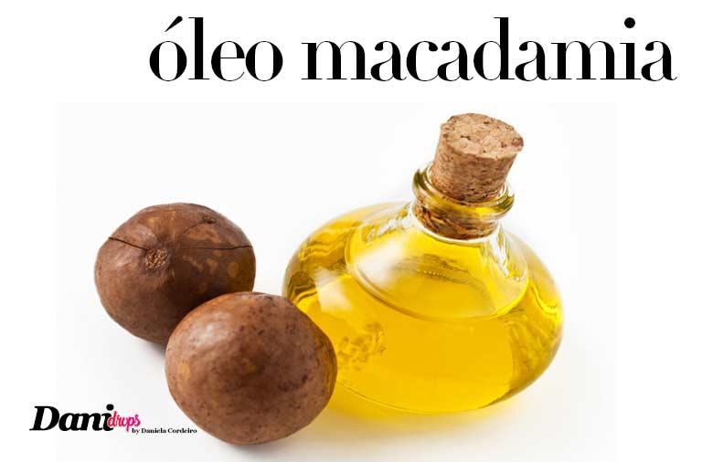 óleo de macadamia