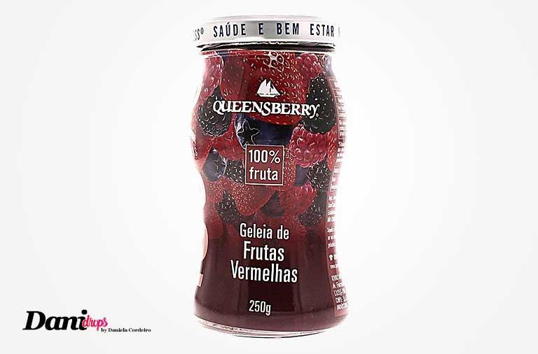queensberry geleia de frutas vermelhas