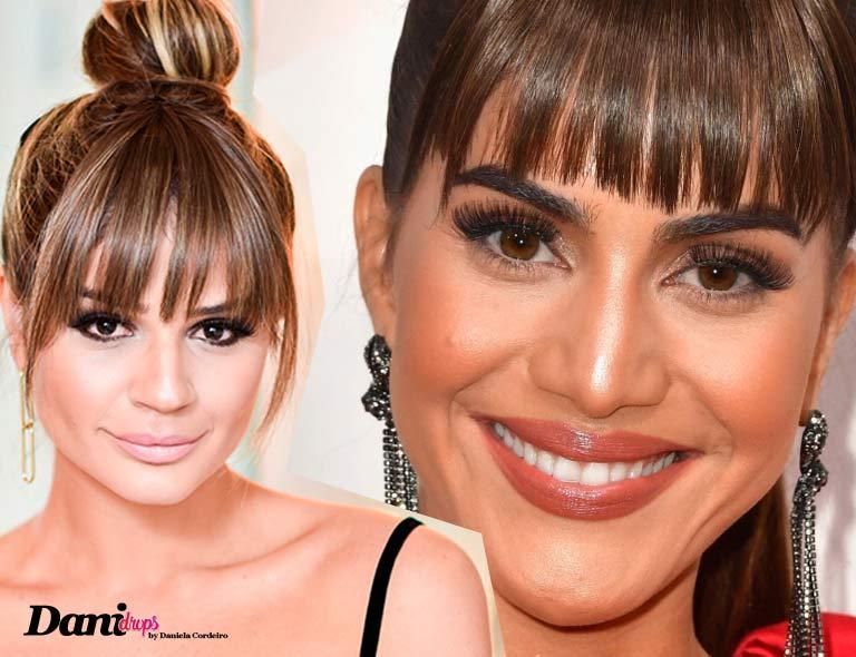 Camila Coelho e Thassia Naves usando Coque no Alto da Cabeça