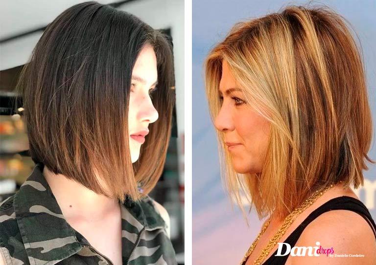 corte de cabelo One Lenght