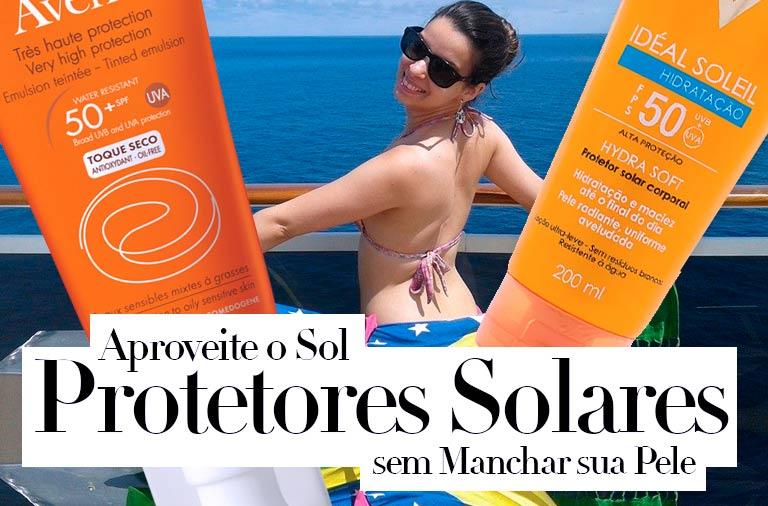 Melhores Protetores Solares para o Rosto