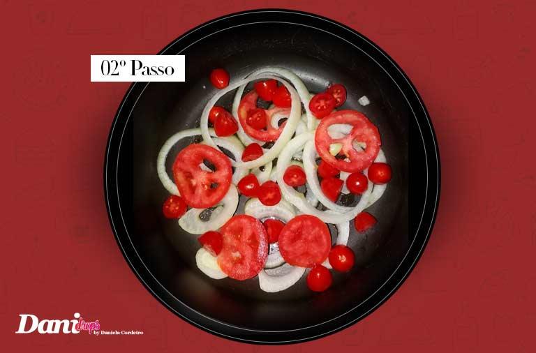 passo 02 - Sardinha Lemon Pepper Gourmet