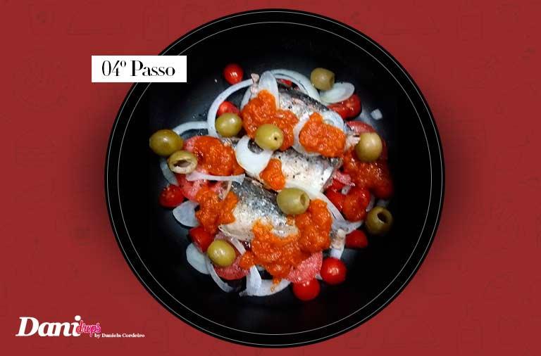 passo 04 - Sardinha Lemon Pepper Gourmet