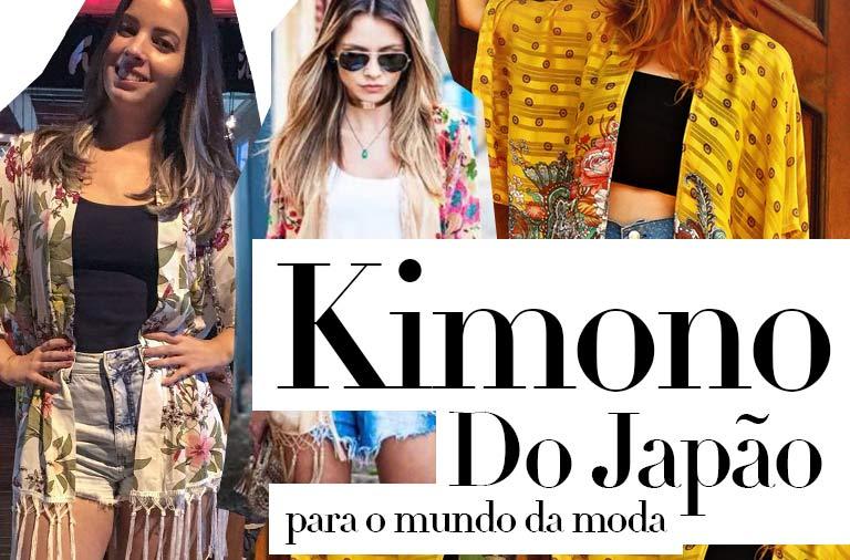 kimono, Turbine seu Look com essa Peça Estilosa