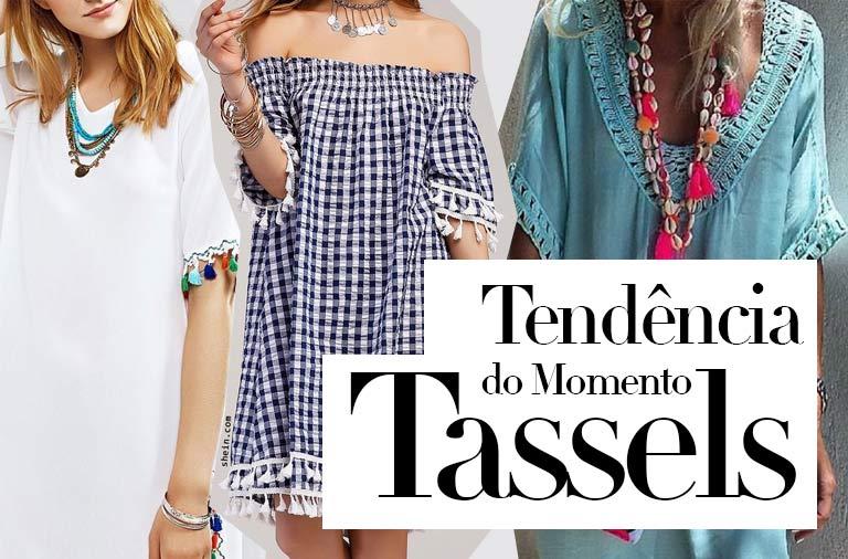 Tassels: É a Tendência do Momento