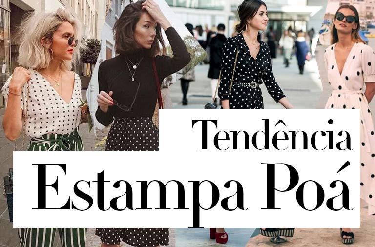 Tendência Estampa de Poá 2018: Uma Estampa Atemporal que esta na Moda