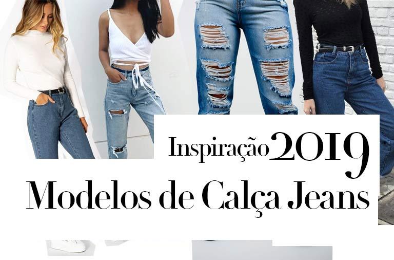 modelos de calça jeans 2019