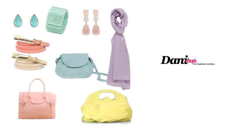 acessórios com cores da moda 2019