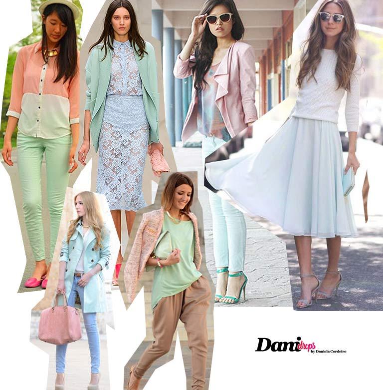 looks com Cores da Moda 2019