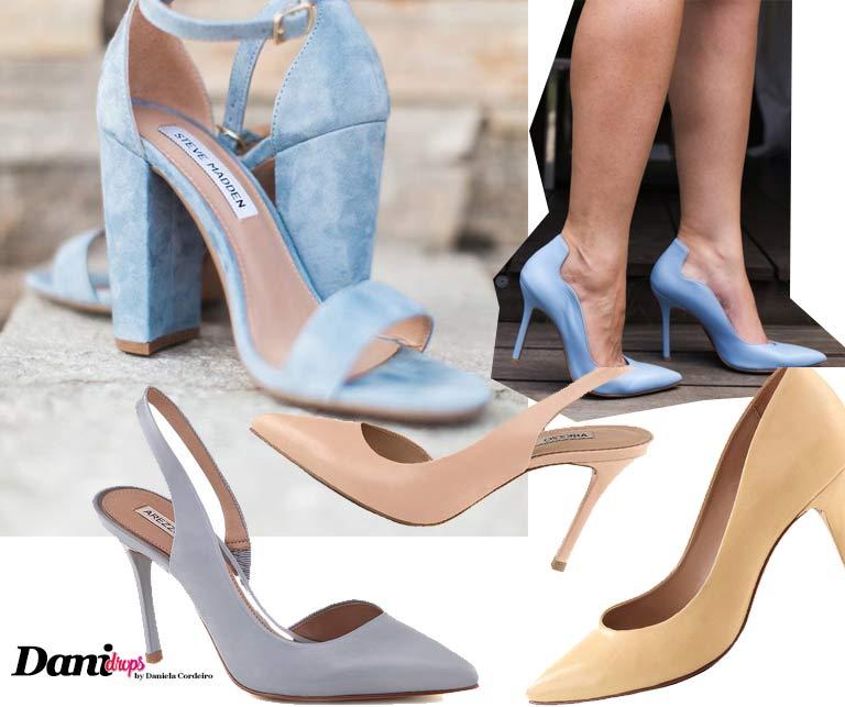 Cores da moda 2019 nos Sapatos - Candy Colors Shoes