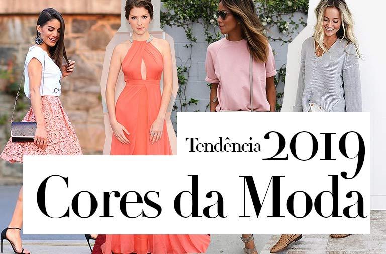 Tendência Cores da Moda 2019 Candy Colors