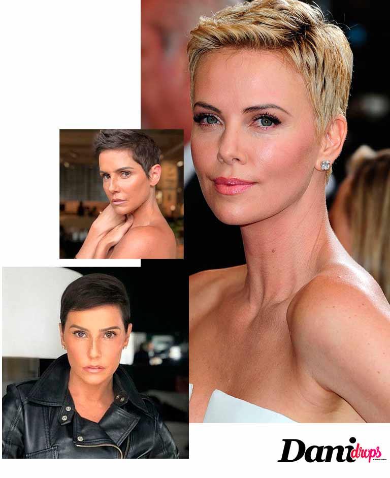 Deborah Secco tendência de corte de cabelo