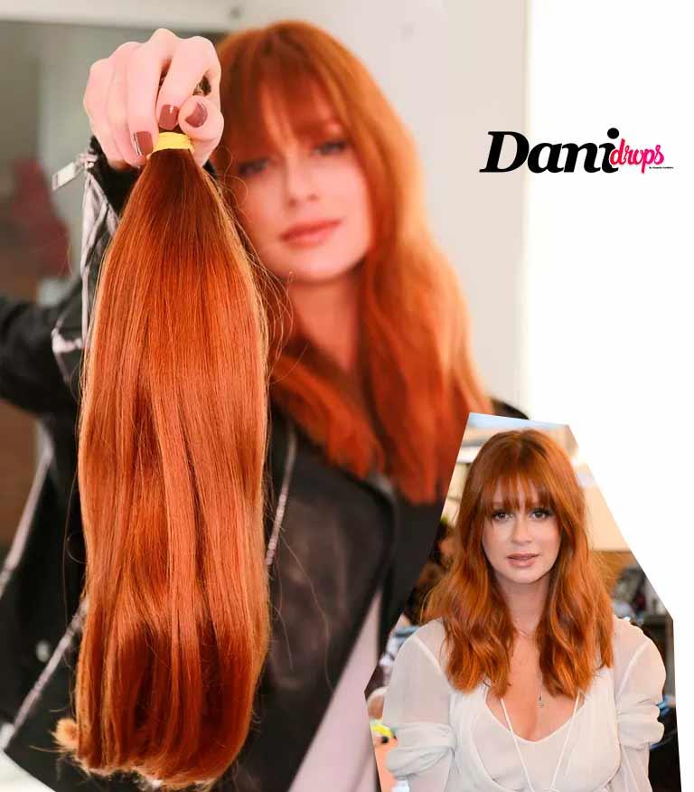 Marina Ruy Barbosa tendência de corte de cabelo