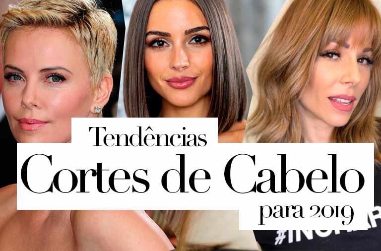 Tendência de Cortes de Cabelo 2019