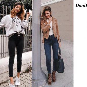 25+ Modelos de Jeans skinny e como usar para não errar a combinação