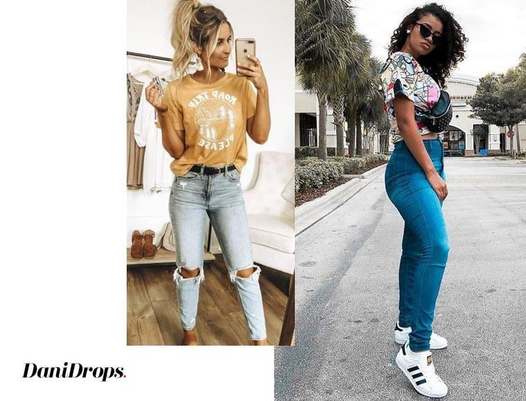 Modelos de Jeans skinny