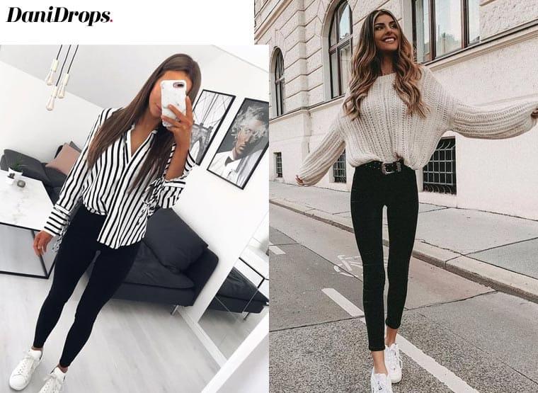 estilo com jeans preto