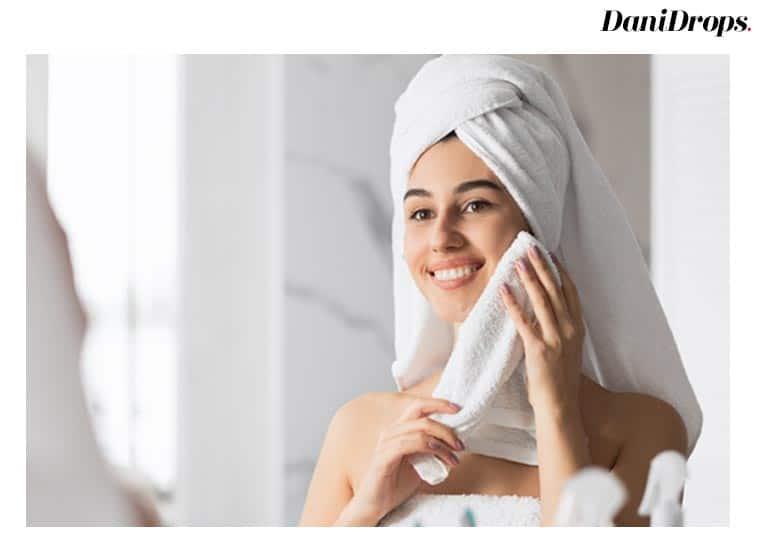 Aplique toalhas frias
