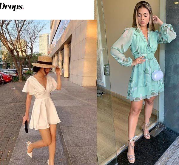 10+ looks com vestidos curtos para o outono