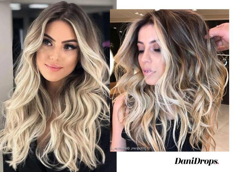 tendência de cabelo com luzes